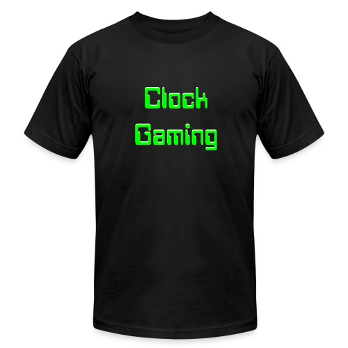 ClockGaming Tshirt Neon Green - Men's  Jersey T-Shirt