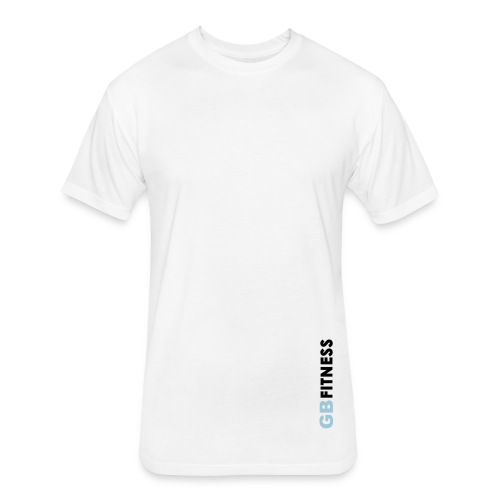 Clean Tee - White - Fitted Cotton/Poly T-Shirt by Next Level