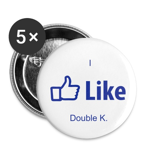 Double K. buttons. - Large Buttons