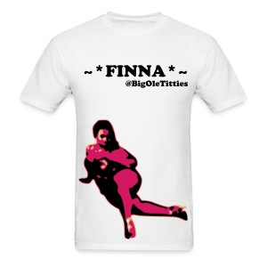 FINNA T-Shirt Wanda LaQuanda @BigOleTitties youtube - Men's T-Shirt