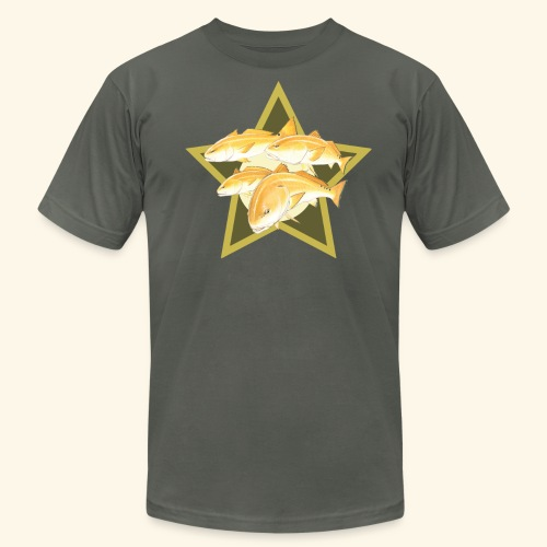 Hookat Bullred - Men's Fine Jersey T-Shirt