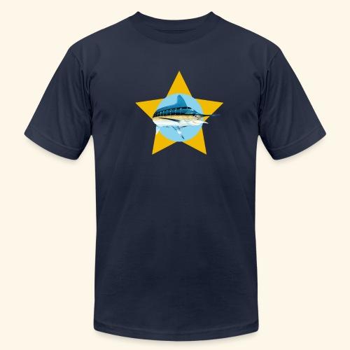Hookat Marlin Star - Men's  Jersey T-Shirt