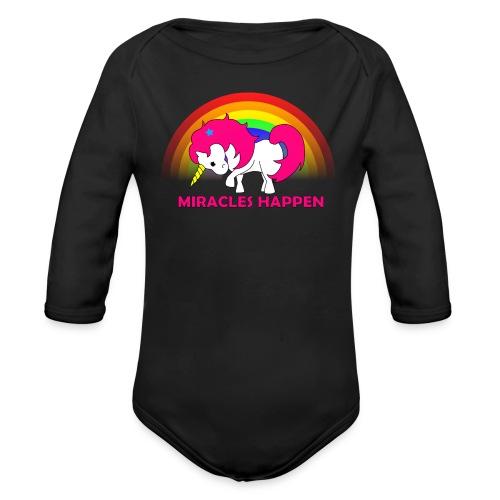 Miracle Baby - Organic Long Sleeve Baby Bodysuit