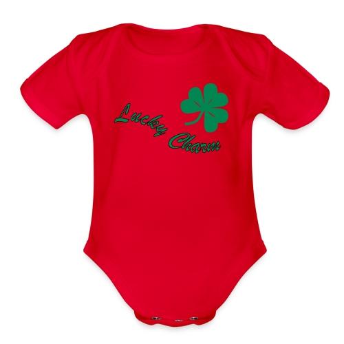 St. Patrick's Baby - Organic Short Sleeve Baby Bodysuit