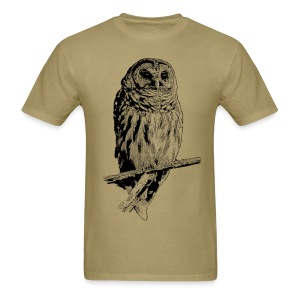 Barred Owl - 4768 - Men's T-Shirt