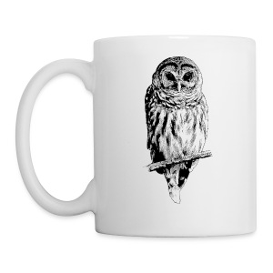 Barred Owl - 4757 - Coffee/Tea Mug