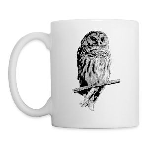 Barred Owl - 4768 - Coffee/Tea Mug