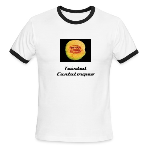 Tainted Cantaloupes T-Shirt, Design 2 - Men's Ringer T-Shirt