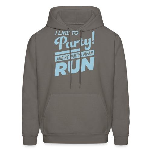 Runner Party Hooded Sweatshirt By Hanes - Men's Hoodie