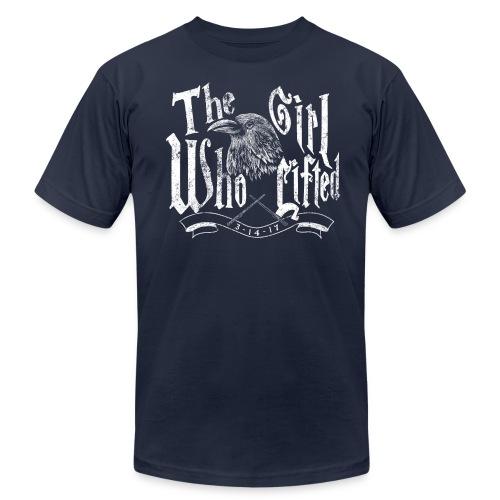 lift gurl AA - Men's  Jersey T-Shirt