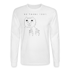 N O   T H A N K   Y O U ! - Men's Long Sleeve T-Shirt
