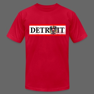 Detroit Austrian Flag - Men's T-Shirt by American Apparel