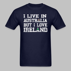 Live Austalia Love Ireland - Men's T-Shirt