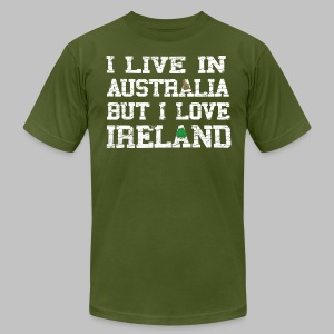 Live Austalia Love Ireland - Men's T-Shirt by American Apparel