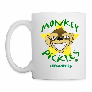 Monkey Pickles Coffee Mug - #WandItUp - Coffee/Tea Mug