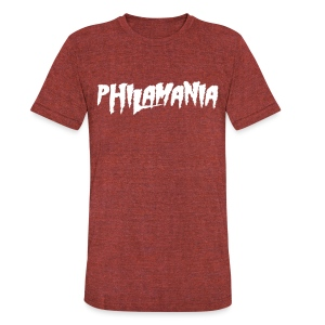 Philamania - Unisex Tri-Blend T-Shirt by American Apparel