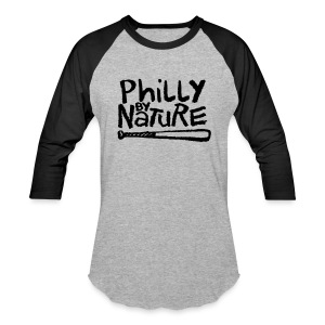 Philly by Nature - Baseball T-Shirt