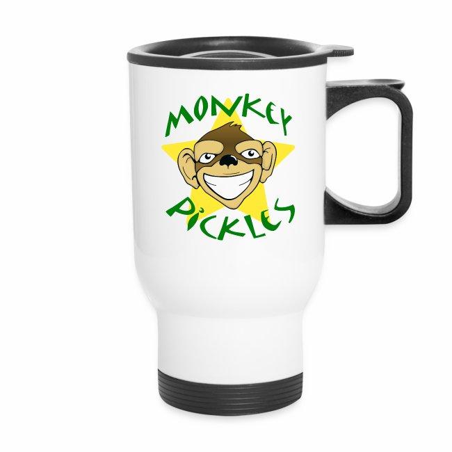 Monkey Pickles Travel Mug Tumbler