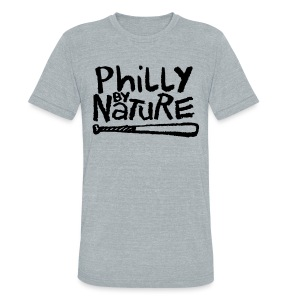 Philly by Nature - Unisex Tri-Blend T-Shirt by American Apparel