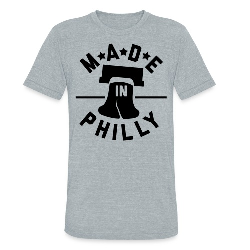 Made In Philly - Unisex Tri-Blend T-Shirt