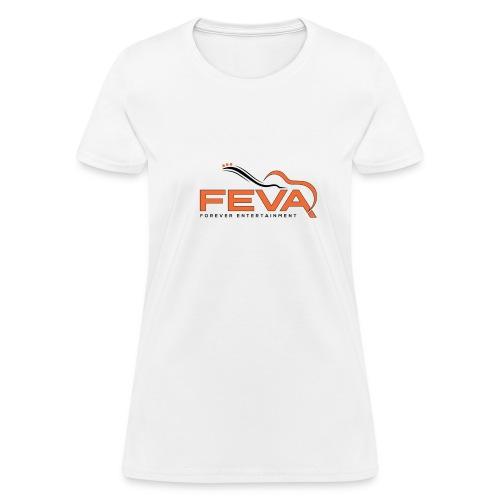 Women's White FEVA T-Shirt - Women's T-Shirt