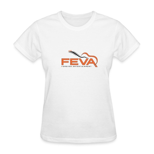 Women's White FEVA T-Shirt - Women's T-Shirt