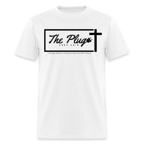 The Plug Men - White Tee - Men's T-Shirt