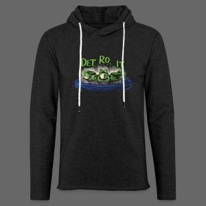 Detroit Frogs - Unisex Lightweight Terry Hoodie