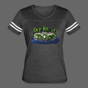 Detroit Frogs - Women's Vintage Sport T-Shirt