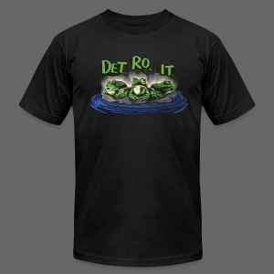 Detroit Frogs - Men's T-Shirt by American Apparel