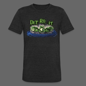 Detroit Frogs - Unisex Tri-Blend T-Shirt by American Apparel