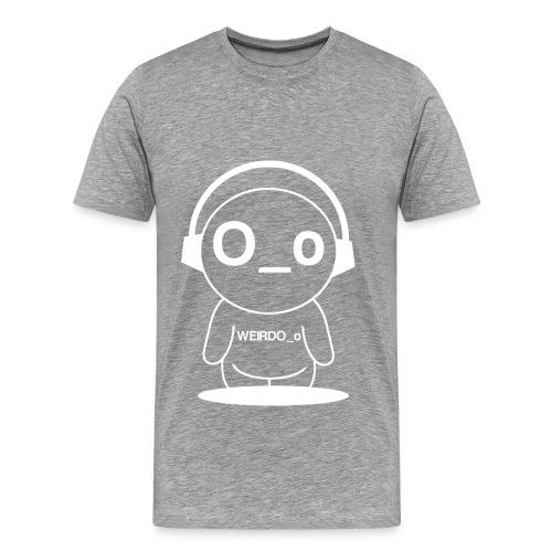 Weirdo Man White - Men's Premium T-Shirt