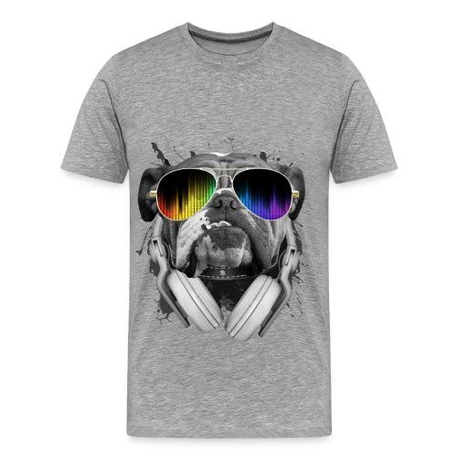 Buldog Dj - Men's Premium T-Shirt