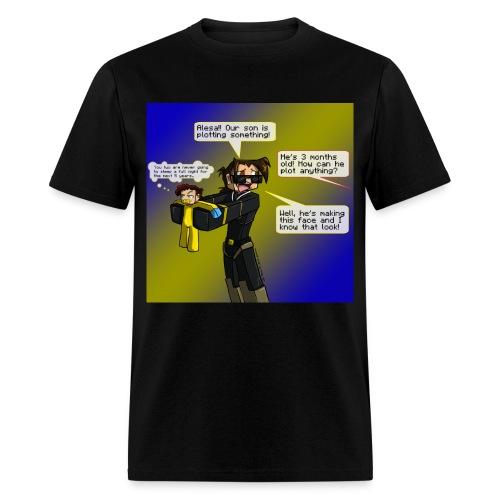 Plotting - Men's T-Shirt