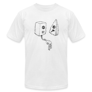 FORBIDDEN LOVE - Men's T-Shirt by American Apparel