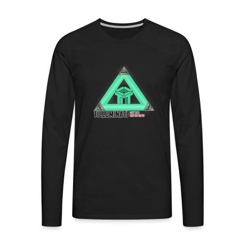 Tilluminati Long Sleeve - Men's Premium Long Sleeve T-Shirt