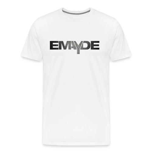 Emayde Grey Logo Mens Shirt  - Men's Premium T-Shirt