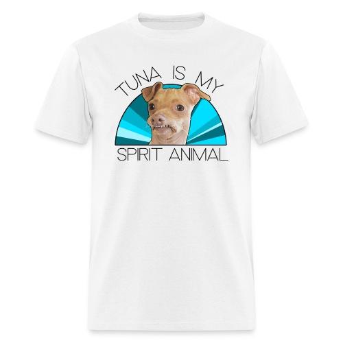 Tuna is my Spirit Animal Men's Tee (blue) - Men's T-Shirt