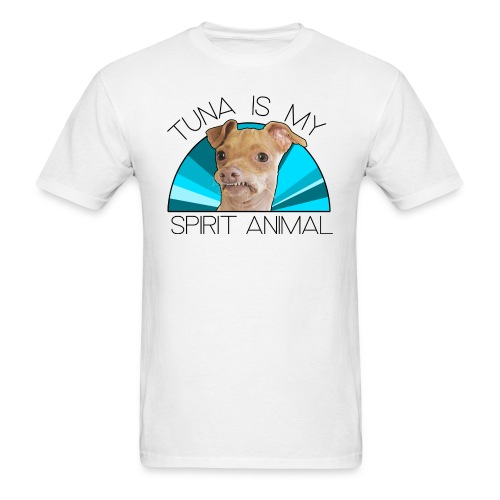 Tuna is my Spirit Animal Men's Tee (blue) - Men's T-Shirt