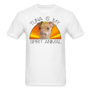Tuna is my Spirit Animal Men's Tee (orange) - Men's T-Shirt