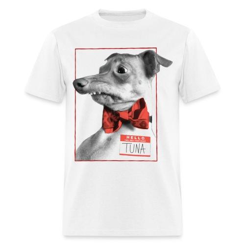 Hello. I will melt your heart. TUNA - Men's T-Shirt