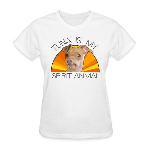 Tuna is my Spirit Animal Women's Tee (orange) - Women's T-Shirt