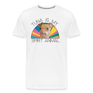 Tuna is my Spirit Animal Men's Premium Tee (multi) - Men's Premium T-Shirt