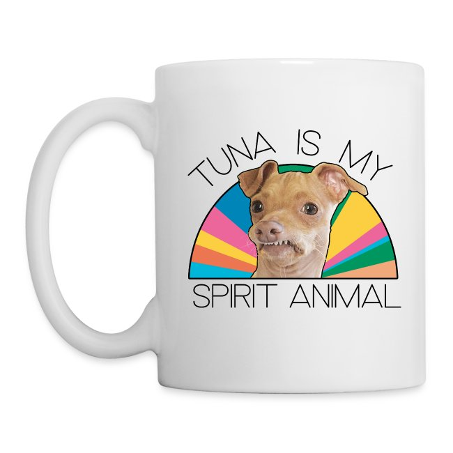Tuna is my Spirit Animal Ceramic (multi)