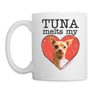 CLASSIC! Tuna Melts My Heart Mug - Coffee/Tea Mug