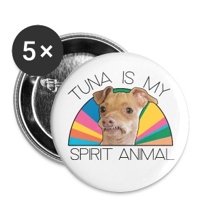 Tuna is my Spirit Animal Buttons (multi) - Large Buttons
