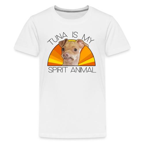 Tuna is my Spirit Animal Kid's Premium Tee (orange) - Kids' Premium T-Shirt