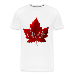 Men's Canada Souvenir T-shirts Canada Maple Leaf Shirts - Men's Premium T-Shirt