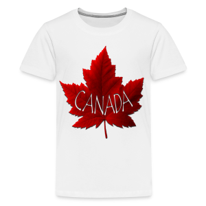 Kid's Canada Souvenir T-shirts Canada Maple Leaf Shirts - Kids' Premium T-Shirt
