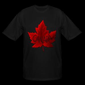 Plus Size Canada Souvenir T-shirts Canada Maple Leaf Shirts - Men's Tall T-Shirt